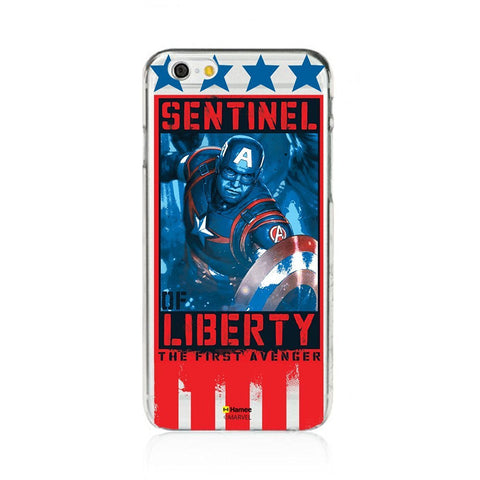 Sentinel Of Liberty Clear iPhone 6S/6 Case Cover
