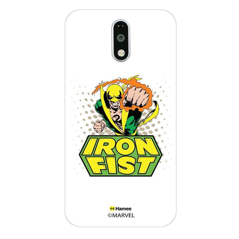 Iron Fist Logo Moto G4 Plus/G4 Case Cover