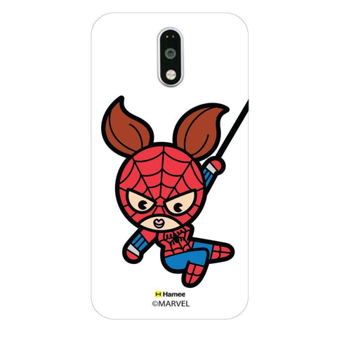 Cute Spider Woman Moto G4 Plus/G4 Case Cover