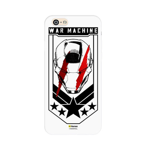 War Machine White iPhone 6S/6 Case Cover