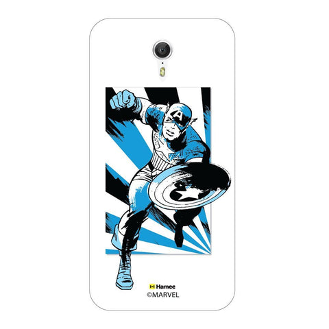 Captain America Blue Wash Lenovo Zuk Z1 Case Cover