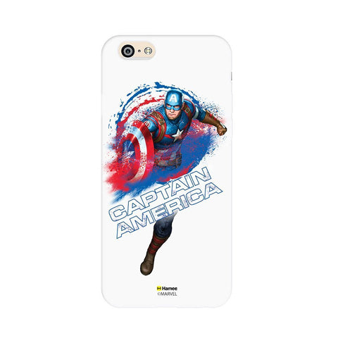 Captain America White iPhone 6 Plus / 6S Plus Cover Case
