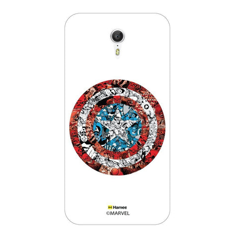Captain America Doodles Lenovo Zuk Z1 Case Cover