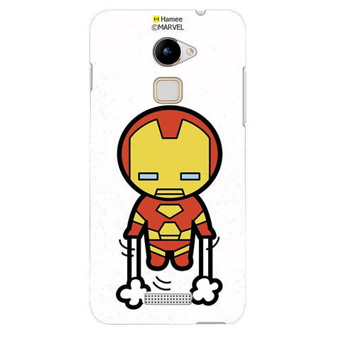 Cute Ironman White Coolpad Note 3 Lite Case Cover
