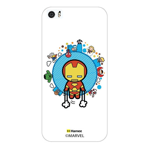 Cute Avengers World White iPhone 6 Plus / 6S Plus Case Cover