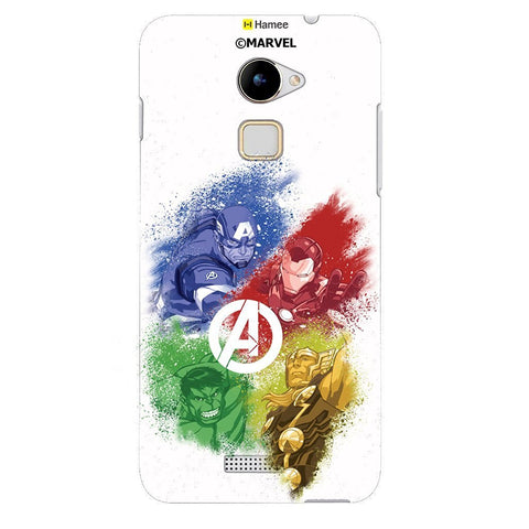 Team Avengers 3 White Coolpad Note 3 Cover