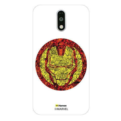 Iron Man Doodles  Moto G4 Plus Case Cover