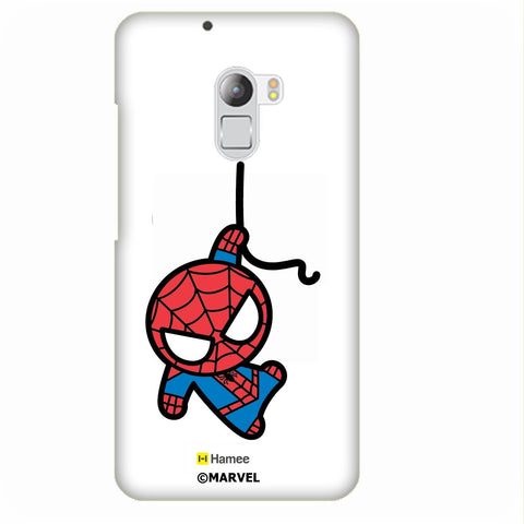 Cute Hanging Spiderman White Lenovo K4 Note/Vibe K4 Note Case Cover