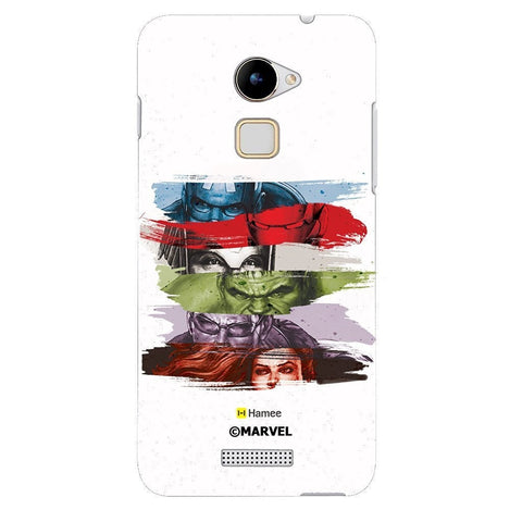 Avengers Faces White Coolpad Note 3 Cover