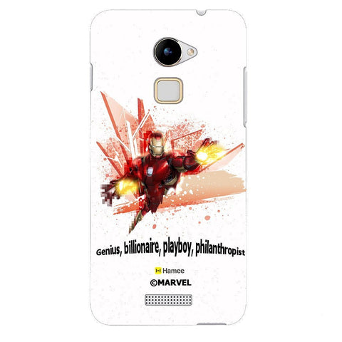 Iron Man Burst White Coolpad Note 3 Cover