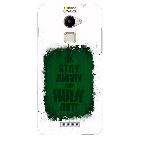 Hulk Out White Coolpad Note 3 Lite Case Cover