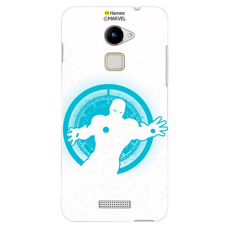 Blue Ironman White Coolpad Note 3 Lite Case Cover