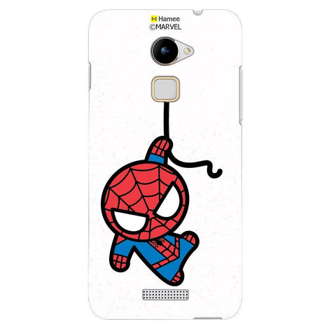 Cute Spiderman White Coolpad Note 3 Lite Case Cover