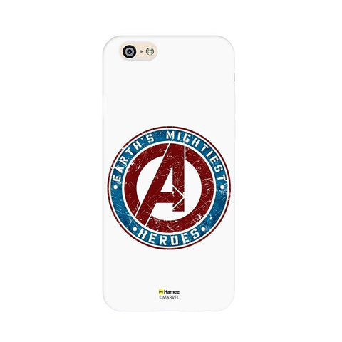 Avengers Stamp White iPhone 6S/6 Case Cover