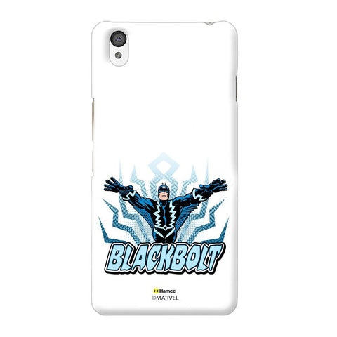 Black Bolt White Oneplus X Case Cover