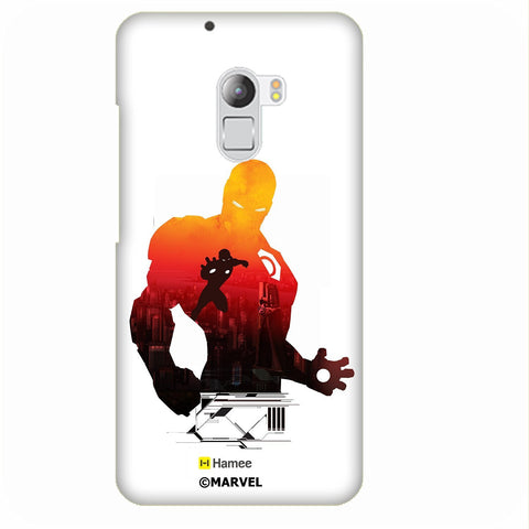 Iron Man Shadow White Lenovo K4 Note/Vibe K4 Note Case Cover
