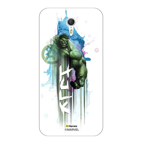 Watercolour Hulk Lenovo Zuk Z1 Case Cover