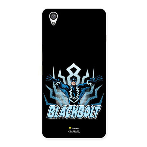 Black Black Bolt  Oneplus X Case Cover