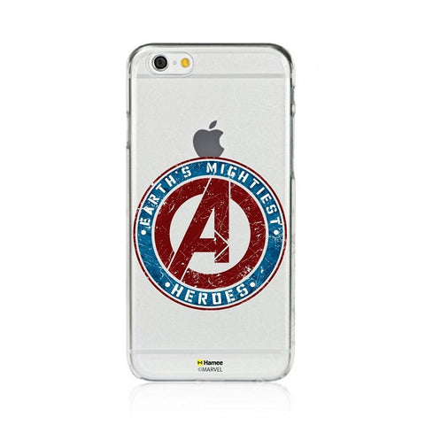 Avengers Stamp Clear iPhone 6S/6 Case Cover
