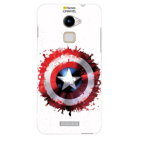 Captain America Watercolour Logo White Coolpad Note 3 Lite Case Cover