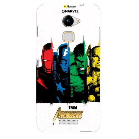 Team Avengers 1 White Coolpad Note 3 Lite Case Cover