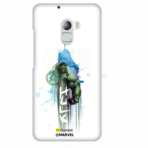Watercolour Hulk White Lenovo K4 Note/Vibe K4 Note Case Cover