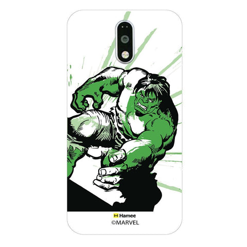 Growling Hulk  Moto G4 Plus Case Cover