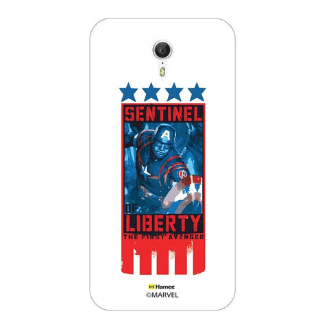 Captain America Sentinel Of Liberty Lenovo Zuk Z1 Case Cover