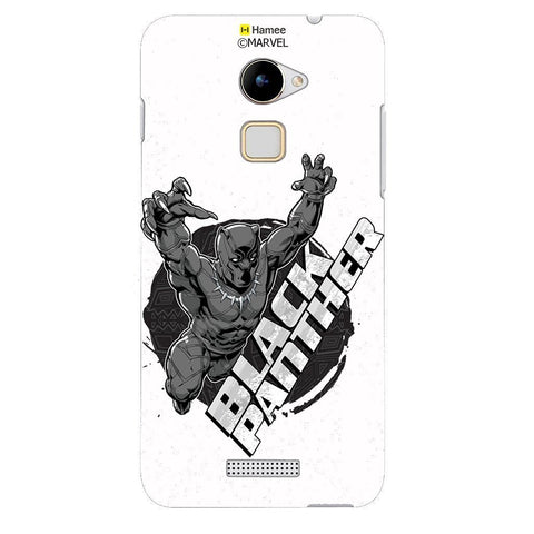 Black Panther White Coolpad Note 3 Lite Case Cover