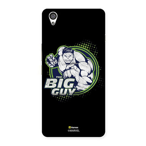 Black The Big Guy Hulk  Oneplus X Case Cover