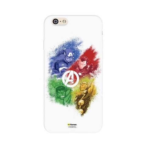 All Superheroes - White iPhone 6S/6 Case Cover