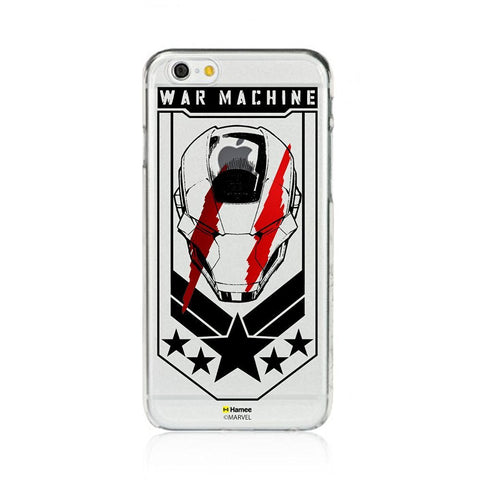 War Machine Clear iPhone 6 Plus / 6S Plus Cover Case