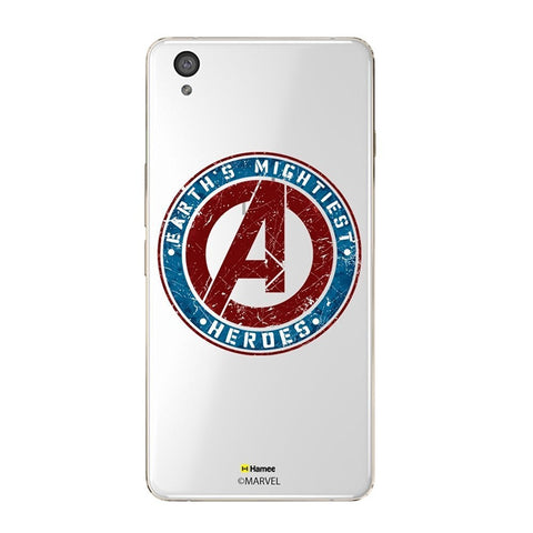 Avengers Logo Clear Oneplus X Case Cover