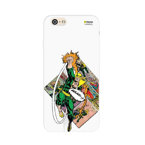 Iron Fist White iPhone 6S/6 Case Cover