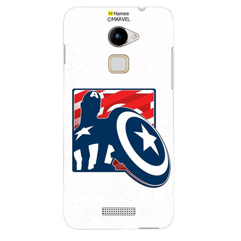 Captain America With Shield White Coolpad Note 3 Cover