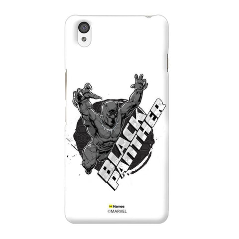 Black Panther White Oneplus X Case Cover