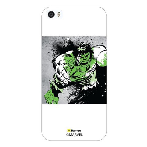 Hulk Green Wash Full White iPhone 5/5S Case Cover