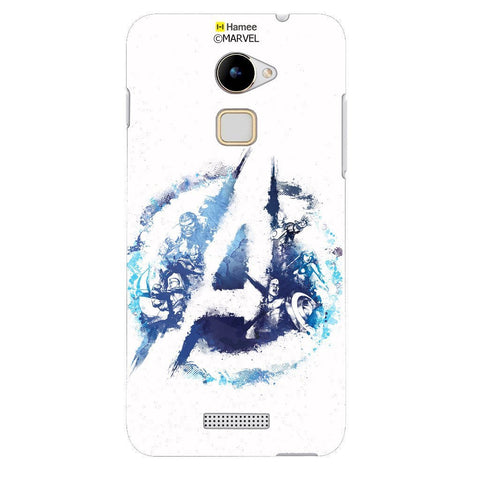 Blue Watercolour Avengers Logo White Coolpad Note 3 Lite Case Cover