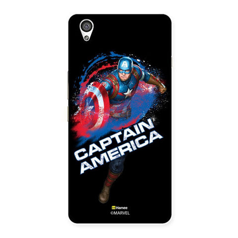Black Captain America  Oneplus X Case Cover