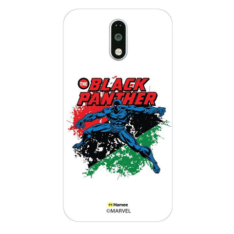 Black Panther Stripes  Moto G4 Plus Case Cover