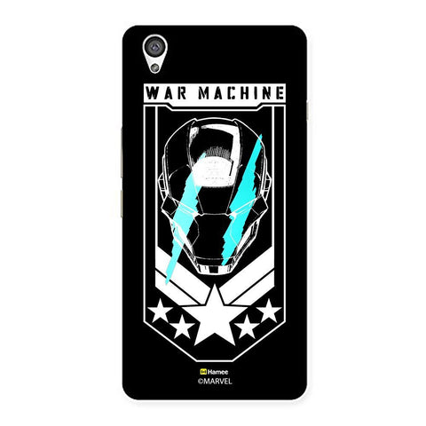 Black War Machine Iron Man  Oneplus X Case Cover