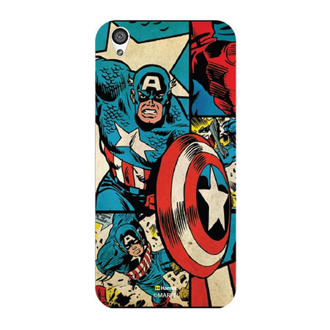 Captain America Comic  Oneplus X Case Cover