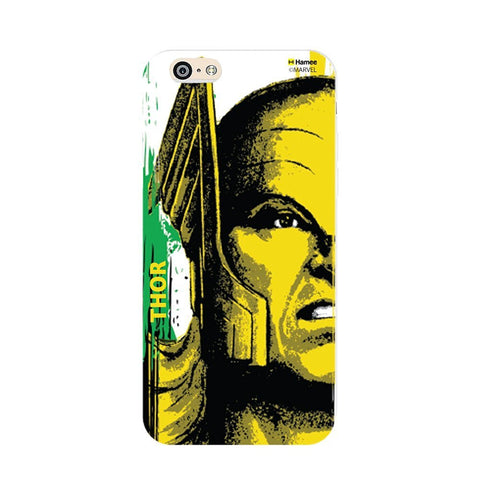 Thor Face Yellow-  iPhone 6 Plus / 6S Plus Cover Case