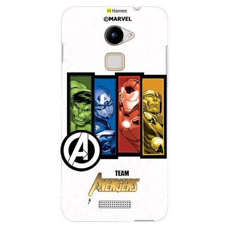 Team Avengers 2 White Coolpad Note 3 Cover