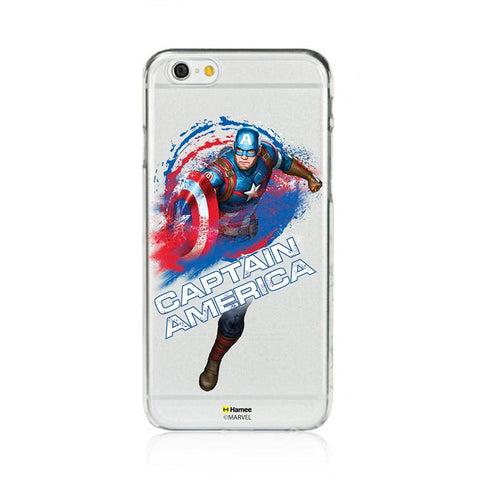 Captain America Clear iPhone 6 Plus / 6S Plus Cover Case