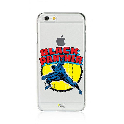 Black Panther Clear iPhone 6S/6 Case Cover