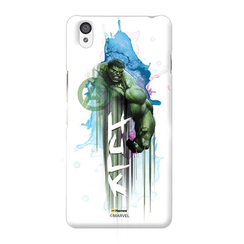 Watercolour Hulk White Oneplus X Case Cover