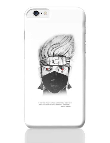 kakashi hatake iPhone 6 Plus / 6S Plus Covers Cases Online India