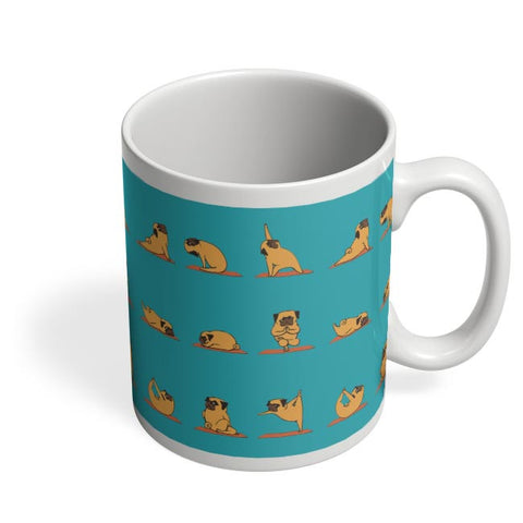 PUG YOGA Coffee Mug Online India