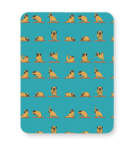 PUG YOGA Mousepad Online India